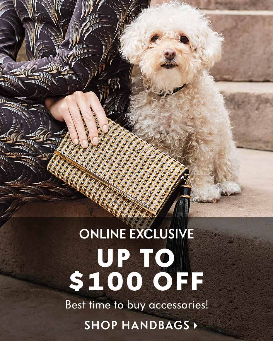Online Exclusive: Up to $100 off - Best time to buy accessories!
