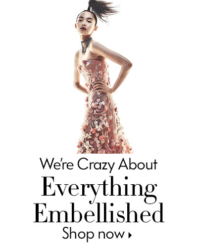 We're crazy about Everything Embellished - Shop now