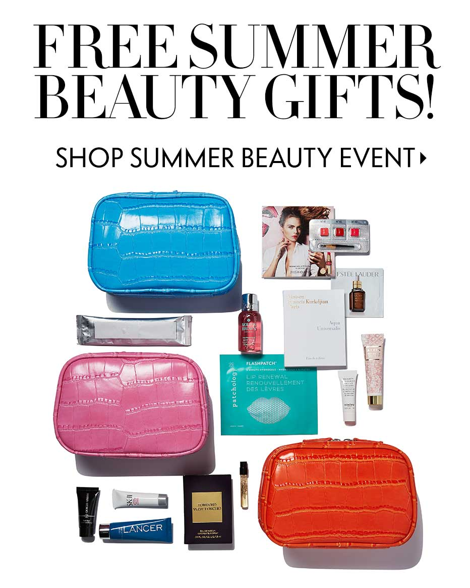 Free Summer Beauty Gifts!