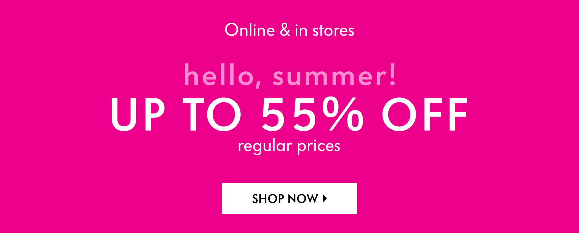 Hello, summer sale! Extra 25% off sale prices
