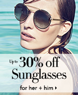Up to 30% off sunglasses including Gucci, Prada, Burberry + more