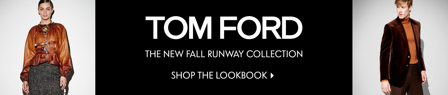 Tom Ford - The New Fall Runway Collection
