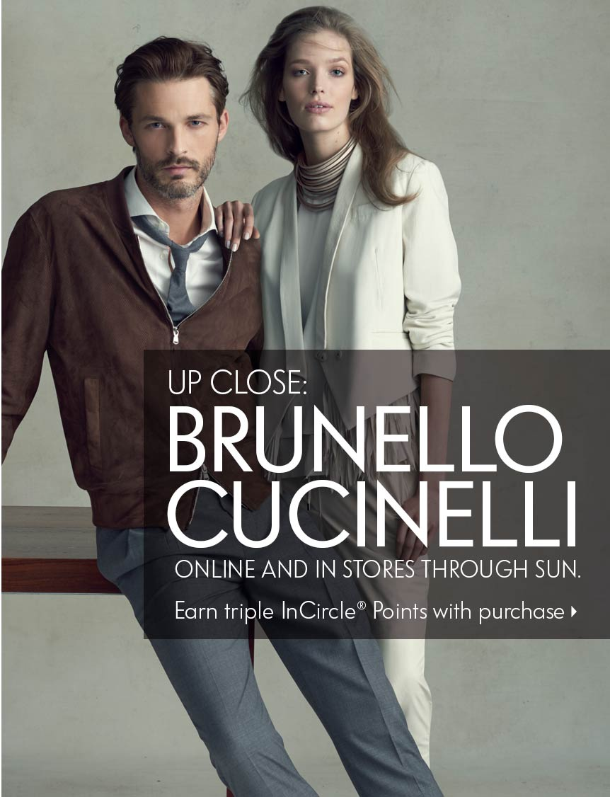 Up Close Cucinelli