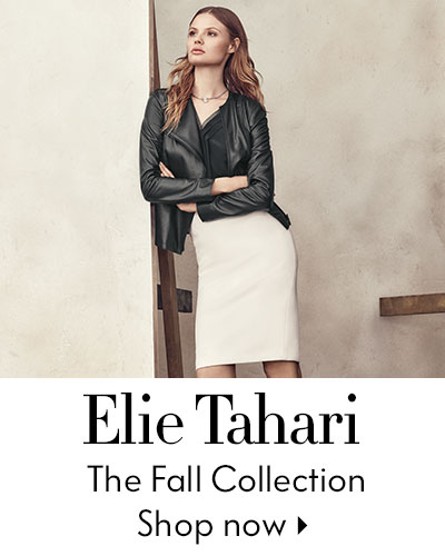 Elie Tahari - The Fall Collection