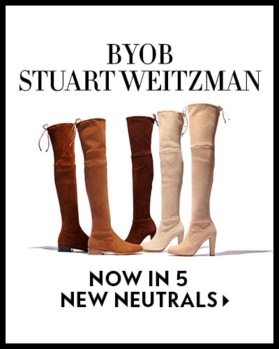 Spring Encore! BYOB Stuart Weitzman: Build Your Own Boot - #OnlyatNM - now in 5 new neutrals