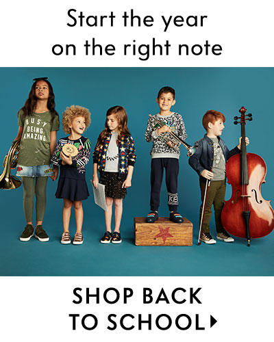 Start the year on the right note, shop back to school