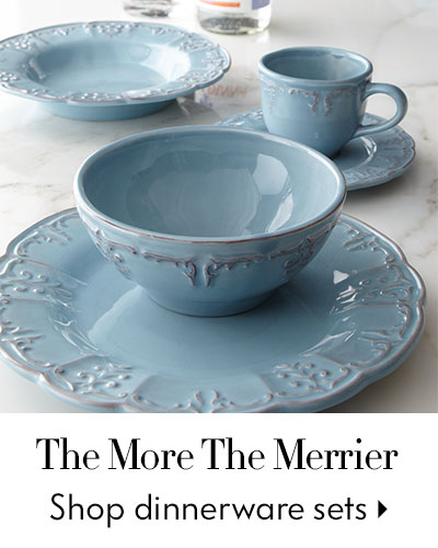 The More The Merrier - Shop dinnerware services