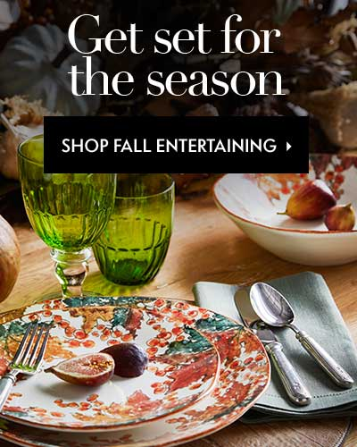 Get set for the season: Shop Fall Entertaining