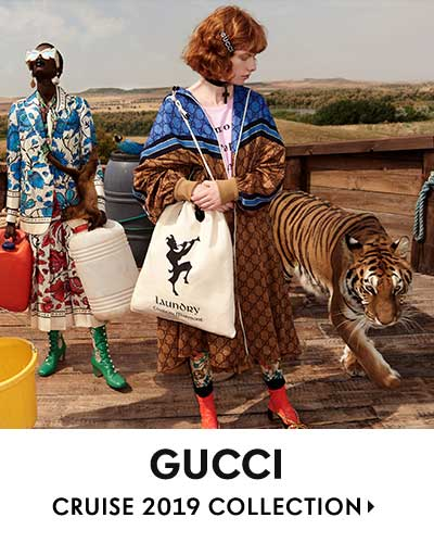 Gucci - Cruise 2019 Collection
