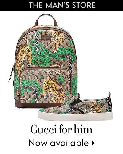 The Man's Store - Gucci for him - Now available