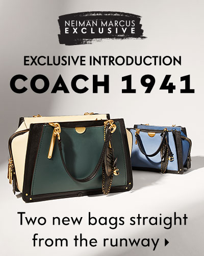 Neiman Marcus Exclusive: Exclusive Introduction - Coach 1941