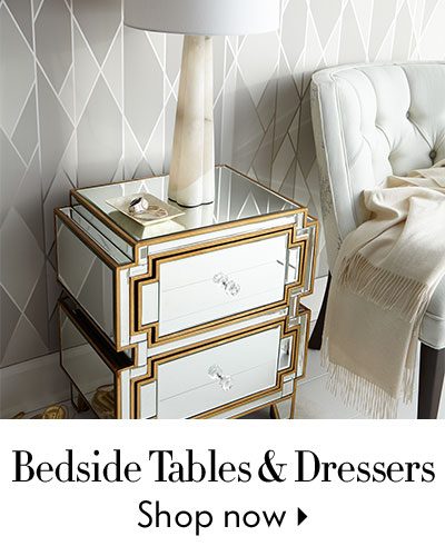 Bedside Tables & Dressers - Shop Now