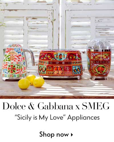 Dolce & Gabbana x smeg - Sicily is my love - appliances