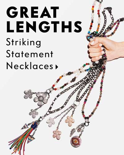Great Lengths - Striking statement necklaces