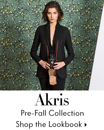Akris Pre-Fall Lookbook