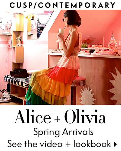 About Alice+Olivia. Alice + Olivia is a mainstay for stylish women, and one glance at the shop gives you a good idea why. Moving past the basics, Alice + Olivia stocks trend-conscious pieces in a bevy of silhouettes, and tops them off with plenty of accessories, sunglasses, and handbags -- oh, and an aspirational Instagram account%(45).