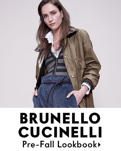 Brunello Cucinelli Prefall Lookbook