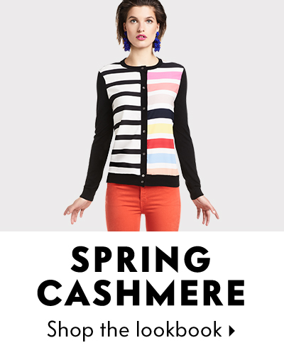 Cashmere Rainbow Brights Lookbook