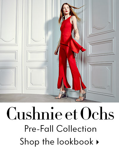 Cushnie et Ochs Lookbook