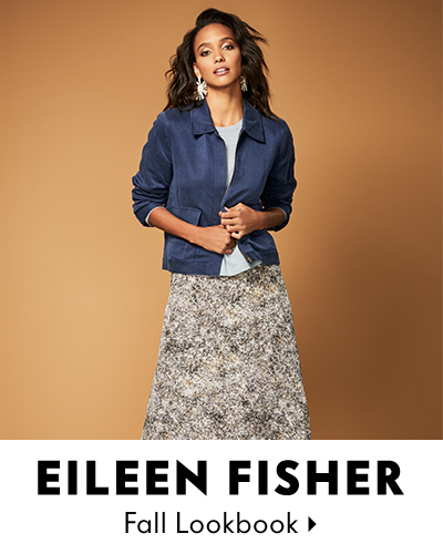 Eileen Fisher Key Peices for Fall Lookbook