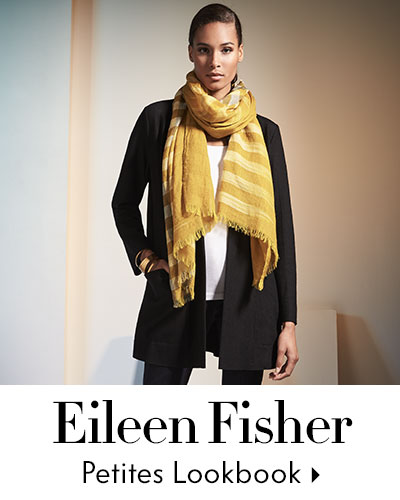 Eileen Fisher Fall Petite Lookbook