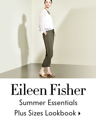 Eileen Fisher Plus Lookbook