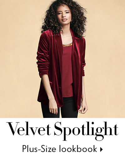 Eileen Fisher Velvet Plus Lookbook