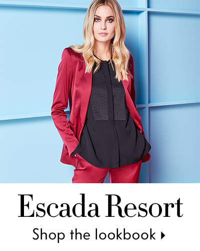 Escada Resort Lookbook