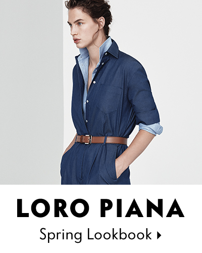 Loro Piana Lookbook