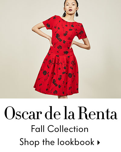 Oscar De La Renta FTW Lookbook