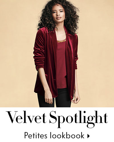 Special Sizes Velvet - Petite Lookbook