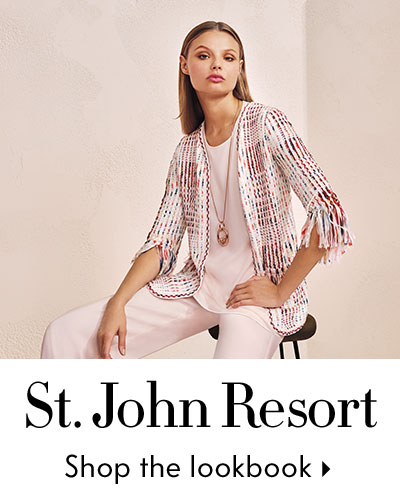 St John Resort Lookbook