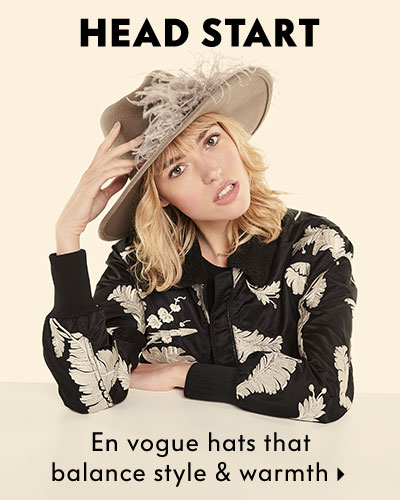 Head Start - En vogue hats that balance style & warmth