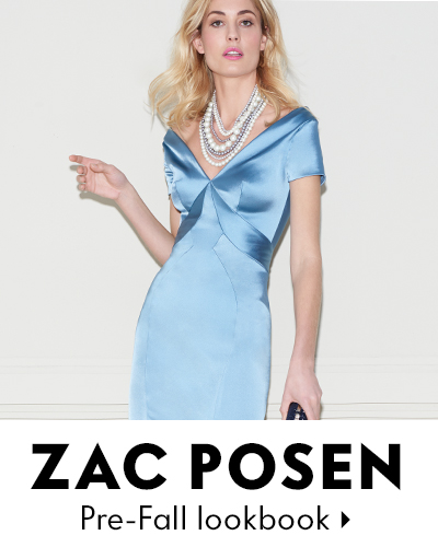 Zac Posen PreFall Lookbook