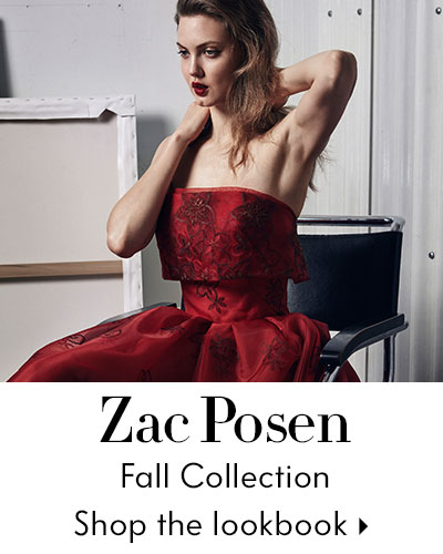 Zac Posen Lookbook