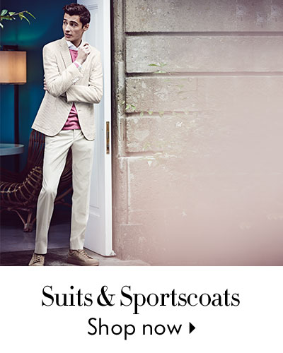 Suits & Sportcoats - shop now