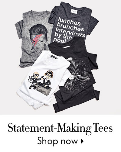 Statement-Making Tees - shop now