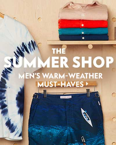 Men's warm-weather must-haves