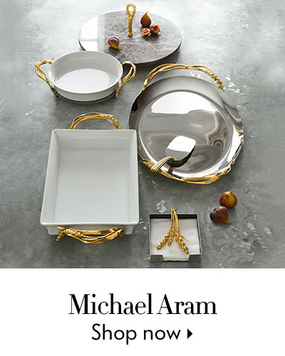 Michael Aram - Naturally breathtaking serveware