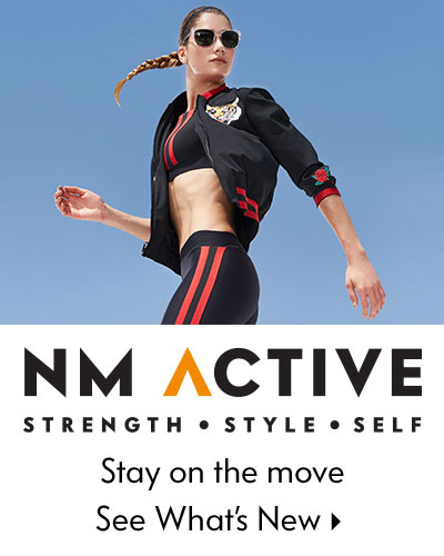 NM Active - Strenght + Style + Self, Stay on the move - See what's new