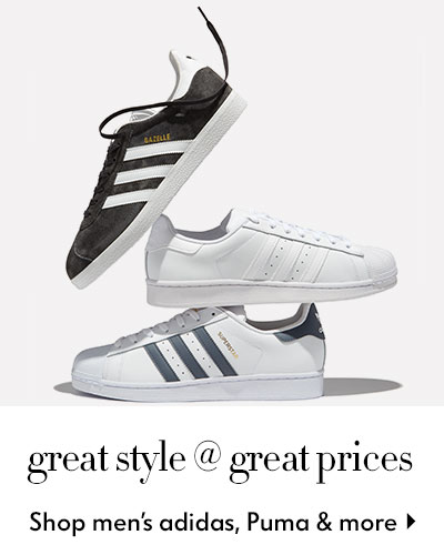 Adidas Originals - Gazelle & Superstar - shop mens sneakers