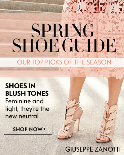 Spring Shoe Guide - Blush Tones
