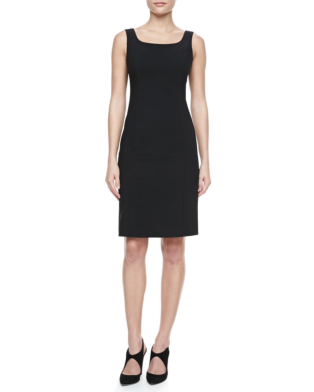 BLACK CLASSIC TANK DRESS