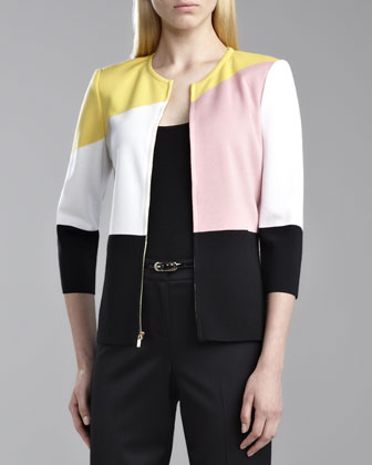 Milano Colorblock Jacket