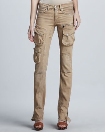Stretch Cargo Pants, Safari Shimmer