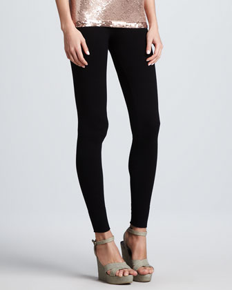 Stretch Leggings, Black