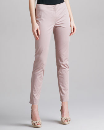 No-Waistband Ankle Pants