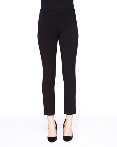 Catherine Cropped Pants, Black
