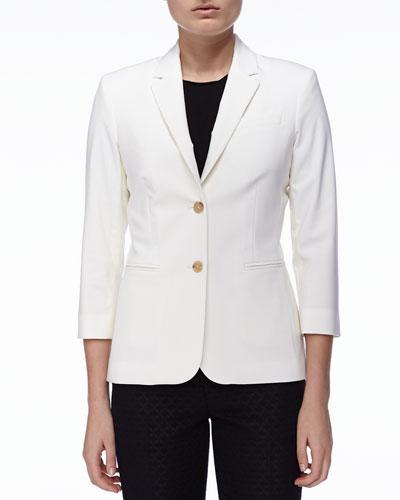 New Schoolboy Jacket, Ivory