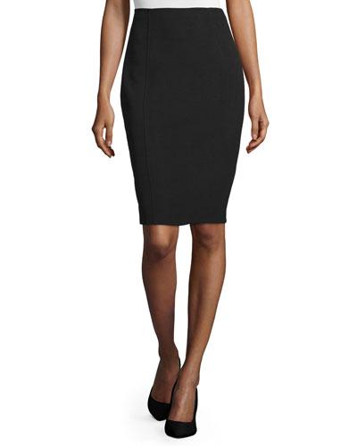 Danielle Pencil Skirt, Black